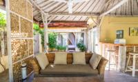 Les Villas Ottalia Gili Meno Living Area | Gili Meno, Lombok