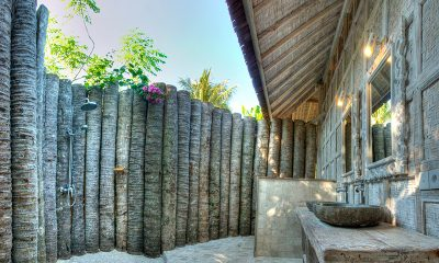 Les Villas Ottalia Gili Trawangan Outdoor Shower | Gili Trawangan, Lombok