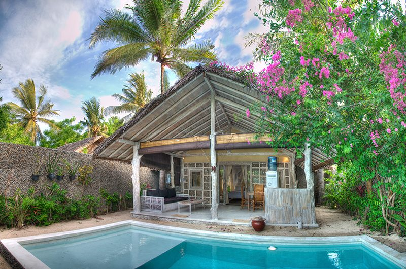 Les Villas Ottalia Gili Trawangan Pool Area | Gili Trawangan, Lombok