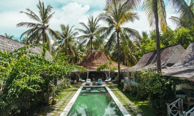 Palmeto Village Gardens and Pool | Gili Trawangan, Lombok