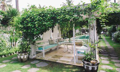 Palmeto Village Outdoor Seating Area | Gili Trawangan, Lombok