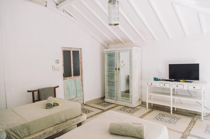 Palmeto Village Twin Bedroom | Gili Trawangan, Lombok