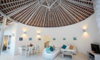 Sunset Palm Resort Super Deluxe 2br Villa Living Room | Lombok | Indonesia