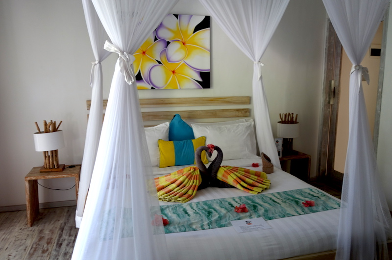 Sunset Palm Resort One Bedroom Villa Bedroom | Lombok | Indonesia