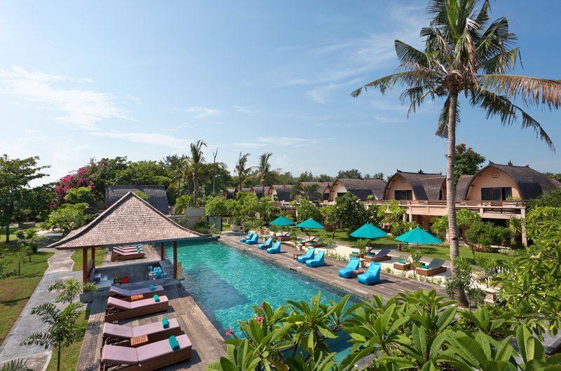 Vila Ombak Bird's Eye View | Gili Trawangan, Lombok