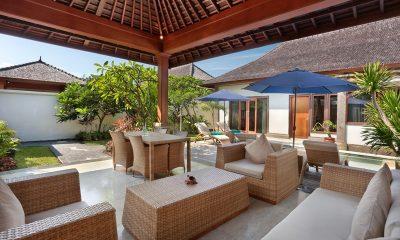 Vila Ombak Living Pavilion | Gili Trawangan, Lombok