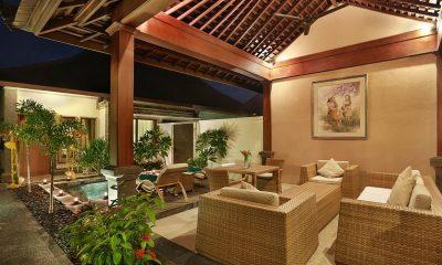 Vila Ombak Open Plan Living Area | Gili Trawangan, Lombok