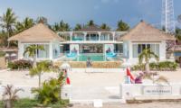 Villa Gili Bali Beach Bird's Eye View | Gili Trawangan, Lombok