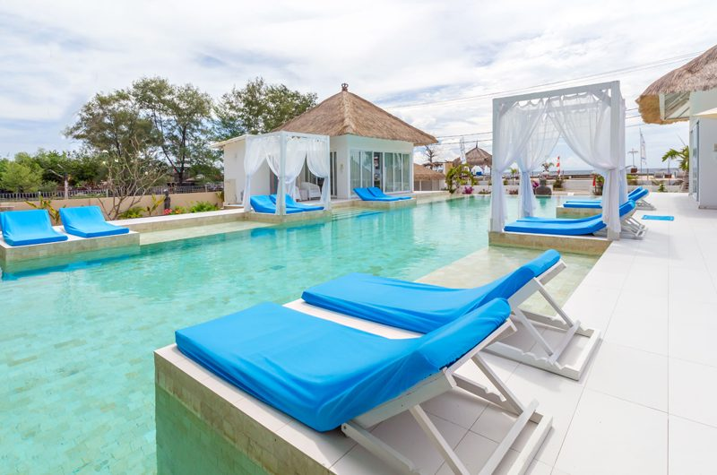 Villa Gili Bali Beach Pool Side | Gili Trawangan, Lombok