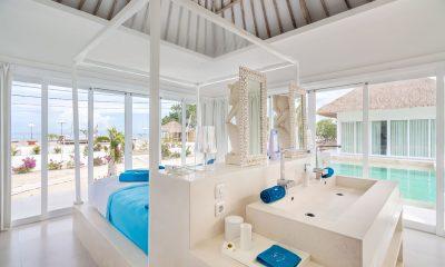 Villa Gili Bali Beach Bedroom with Sea View | Gili Trawangan, Lombok