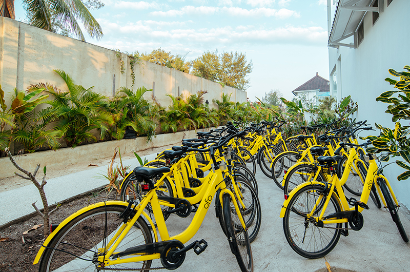 Villa Gili Bali Beach Bicycles Rental | Gili Trawangan, Lombok