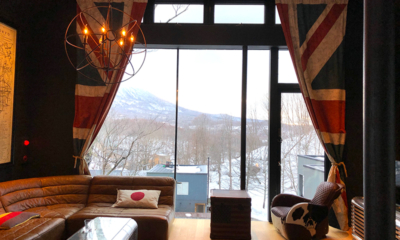 Millesime Living Area with Views | Hirafu, Niseko