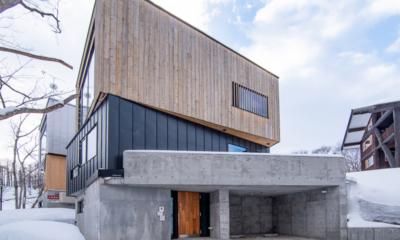 Millesime Exterior Area | Hirafu, Niseko