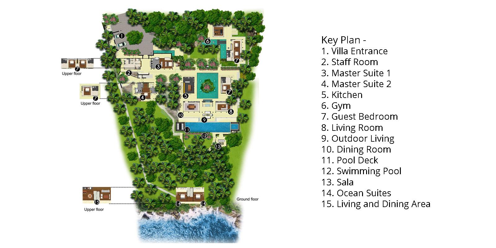 Baan Paa Talee Floorplan | Kamala, Phuket