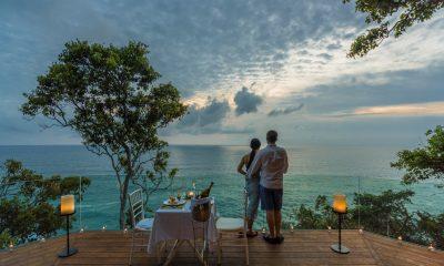 Baan Paa Talee Dining Area with Ocean View | Kamala, Phuket