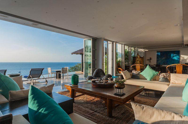 Bluesiam Villa Living Area | Phuket, Thailand