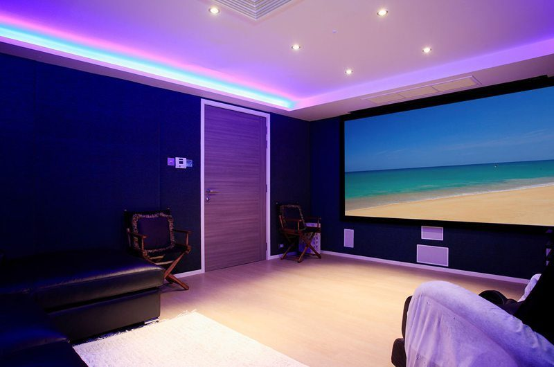 Bluesiam Villa Cinema Room | Phuket, Thailand