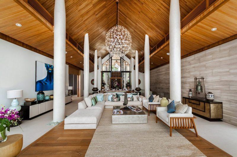 Villa Amarapura Living Area | Cape Yamu, Phuket
