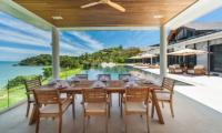 Villa Amarapura Outdoor Dining Area | Cape Yamu, Phuket