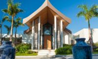 Villa Amarapura Entrance | Cape Yamu, Phuket