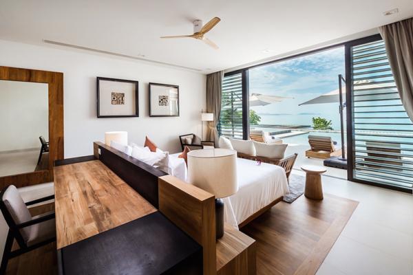 Villa Amarapura Guest Bedroom 1 with Study Table | Cape Yamu, Phuket