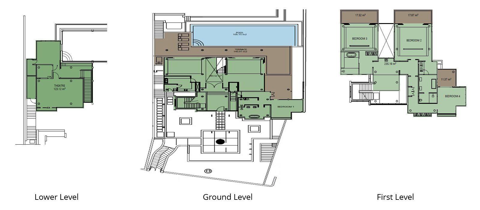 Grand Cliff Front Residence Floorplan | Uluwatu, Bali