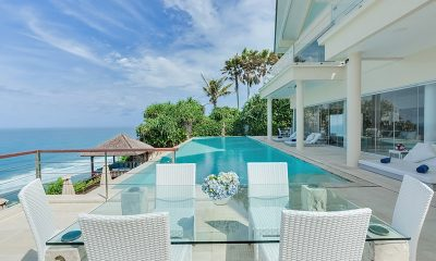 Grand Cliff Front Residence Outdoor Dining | Uluwatu, Bali