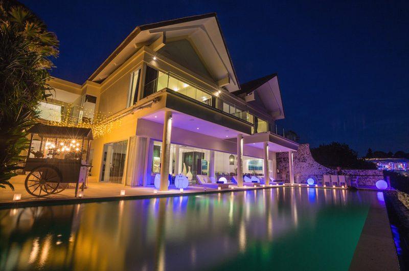 Grand Cliff Front Residence Night View | Uluwatu, Bali