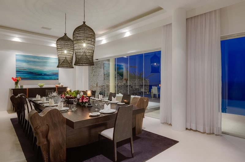 Grand Cliff Front Residence Dining Area | Uluwatu, Bali
