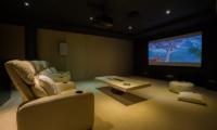 Grand Cliff Front Residence Media Room | Uluwatu, Bali