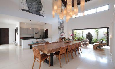Villa Tjitrap Dining And Kitchen Area | Seminyak, Bali