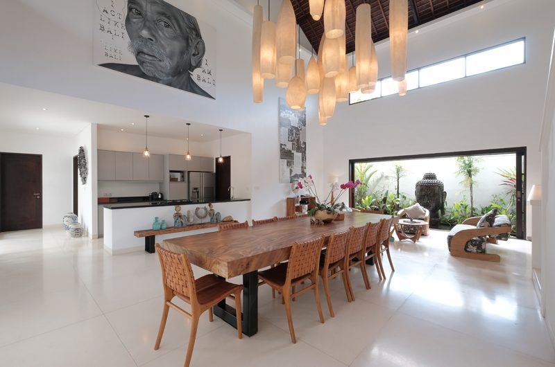 Villa Tjitrap Dining And Kitchen Area | Seminyak, Bali