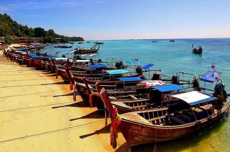 Bop hut Beach Koh Samui Thailand