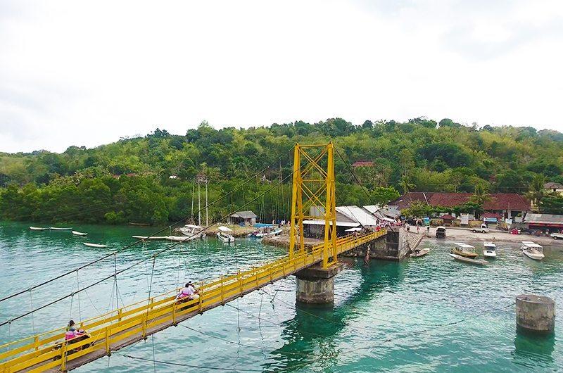Bridge Nusa Lembongan Nusa Ceningan Bali