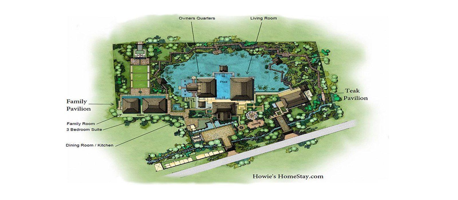 Howies Homestay Floorplan | Mae Rim, Chiang Mai