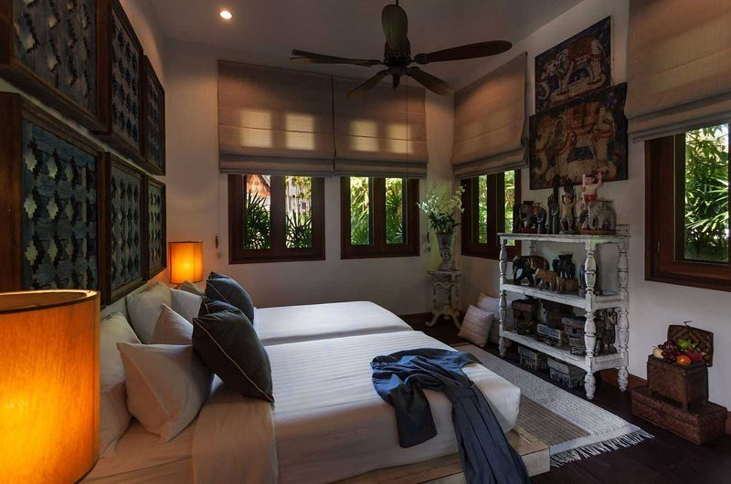 Howie's Homestay Guest Bedroom One Side View | Chiang Mai, Thailand