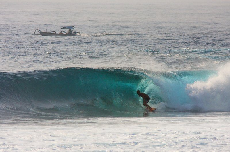 Experienced Surf Spot Geger Nusa Dua Bali