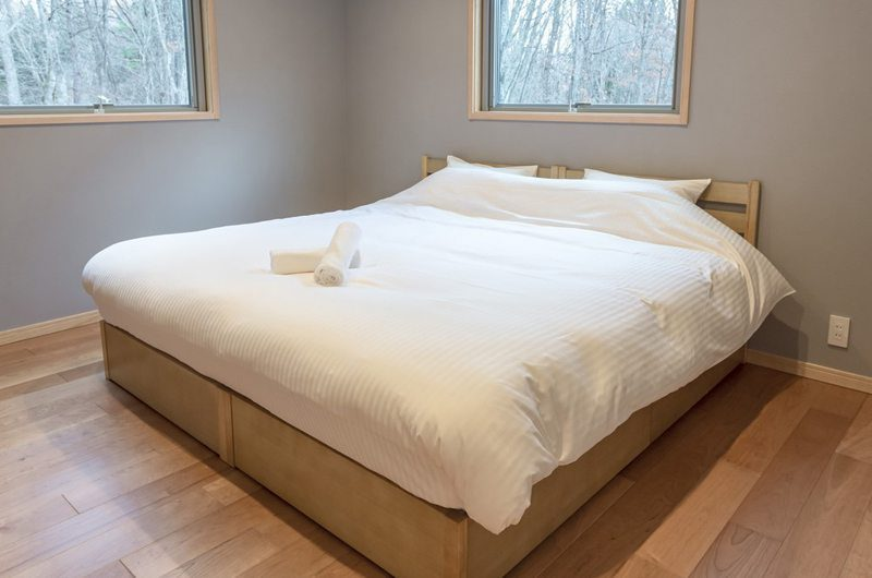 Bluebird Chalets Bedroom Side | Hakuba, Nagano