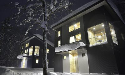 Bluebird Chalets Night View Building | Hakuba, Nagano