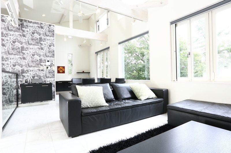 Powder Suites Living Area | Hakuba, Japan