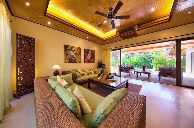 Baan Buaa Living Room   Koh Samui, Thailand