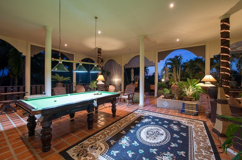 Baan Sijan Pool Table | Koh Samui, Thailand
