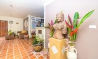 Baan Sijan Living Area | Koh Samui, Thailand