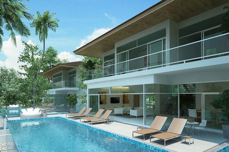 Coral Cay Villas Swimming Pool   Koh Samui, Thailand