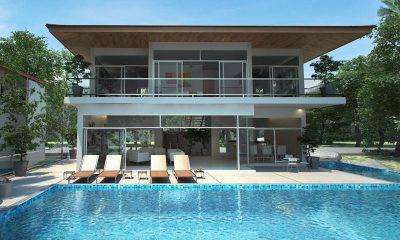 Coral Cay Villas Sun Loungers | Koh Samui, Thailand