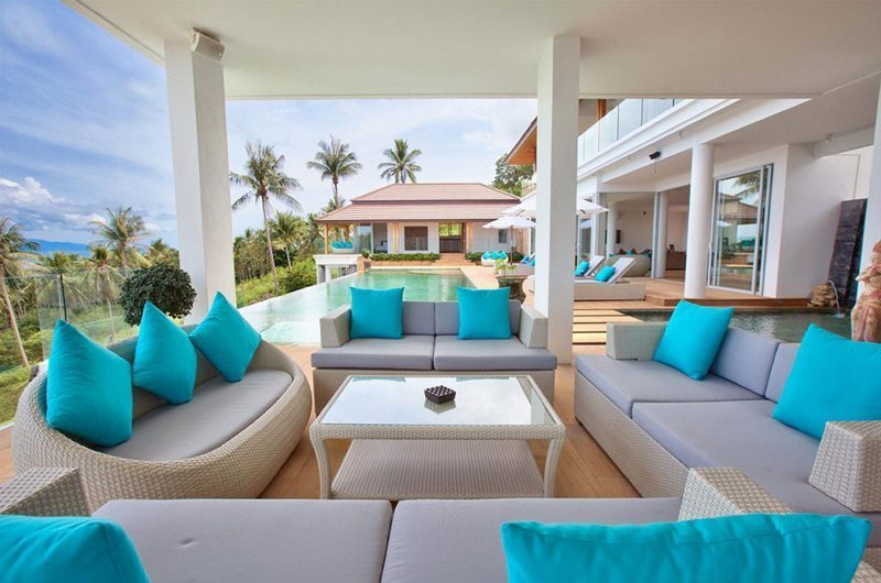 Monsoon Villa Outdoor Lounge | Koh Samui, Thailand