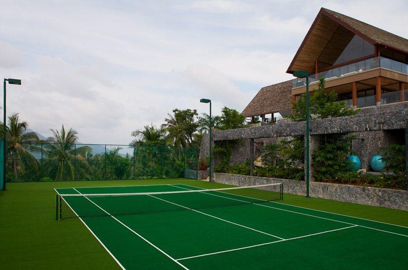Praana Residence Panacea Retreat Tennis Court | Koh Samui, Thailand