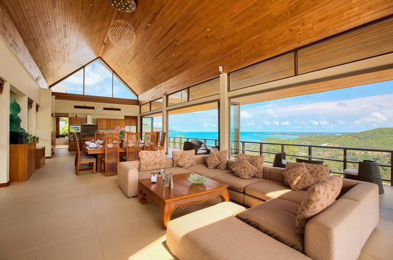 Villa Grand Vista Living Area | Koh Samui, Thailand