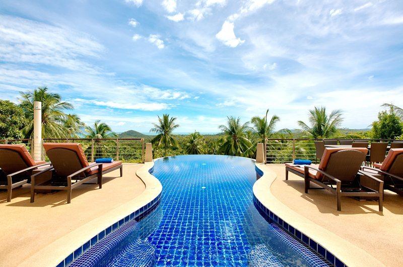 Villa Maphraaw Sun Beds | Koh Samui, Thailand