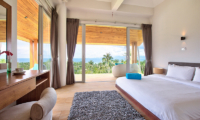 Villa Monsoon Bedroom with Balcony | Bang Por, Koh Samui